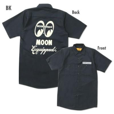 XXLサイズ ムーンアイズ  MOON Equipped (ムーン イクイップド) Red Kap ワーク シャツ