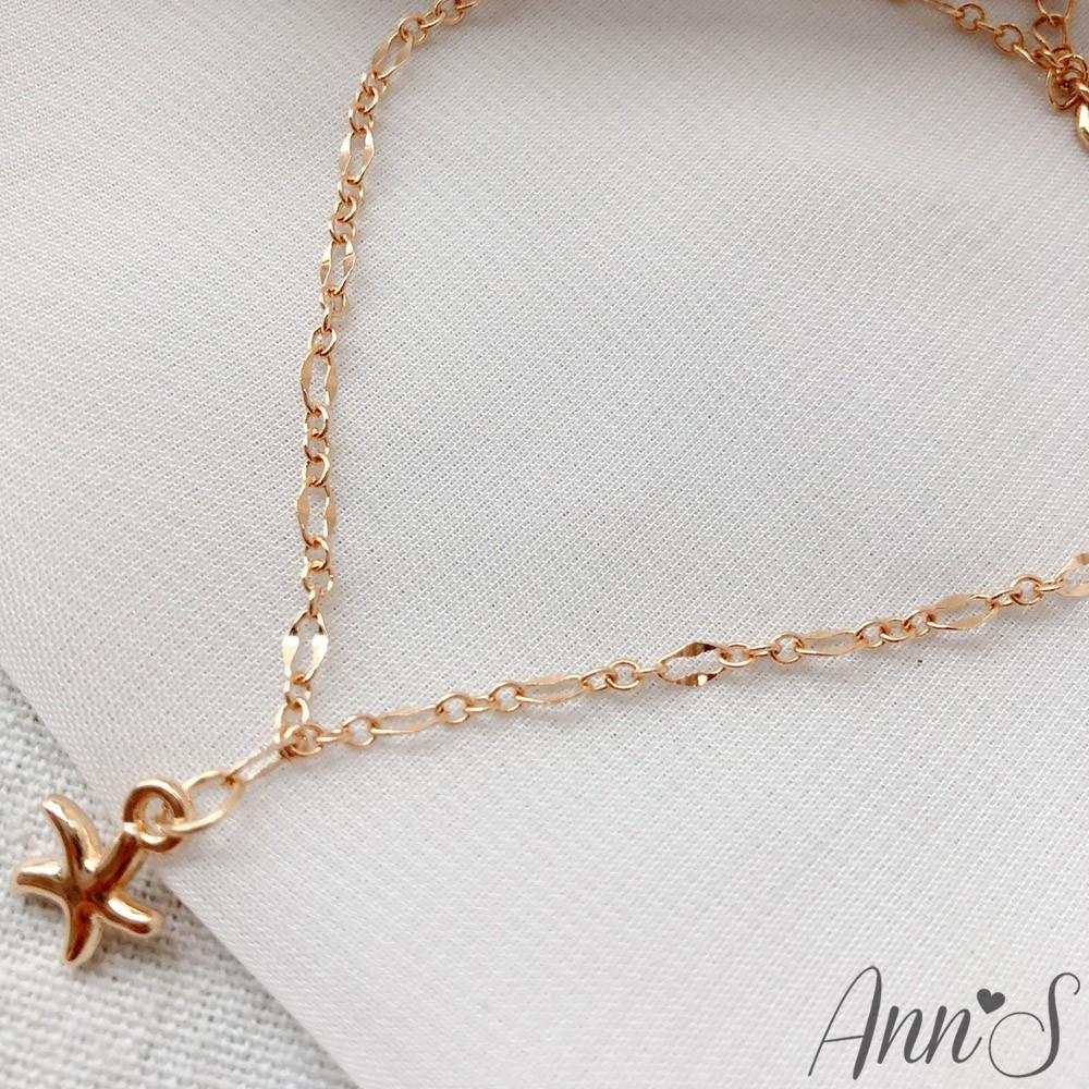 Ann'S 金色海星腳鍊
