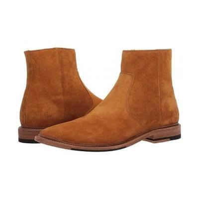 Frye フライ メンズ 男性用 シューズ 靴 ブーツ ドレスブーツ Paul Inside Zip - Marigold Oiled Suede