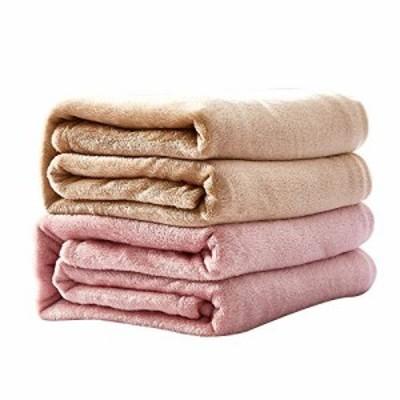 【残りわずか】毛布 2枚組み 140x240cm シングル ロング掛け毛布 軽量 フランネル 3つ使用方法 ブランケット 中掛け毛布 敷き毛布 静電