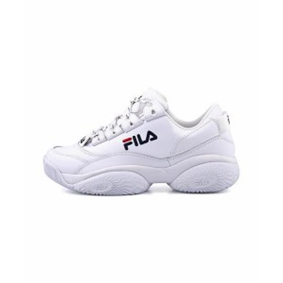 フィラ ダッドシューズ スニーカー メンズ プロヴィナンスロウ PROVENANCE LOW FILA F0400 ホワイト//フィラネイビー/フィラレッド