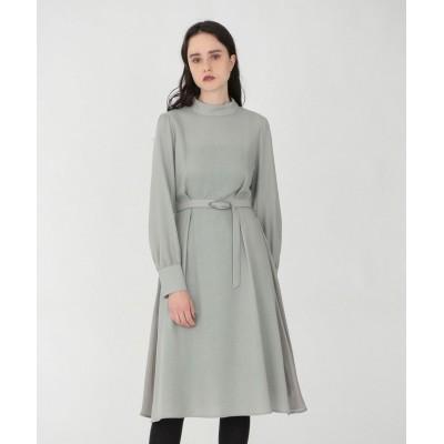 【ラブレス】 ハイネック ドレープ ドレス レディース グリーン 34 LOVELESS