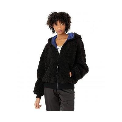 Sportmax スポーツマックス レディース 女性用 ファッション アウター ジャケット コート カジュアルジャケット Bimba Faux Fur Teddy Bomber - Blue/Black