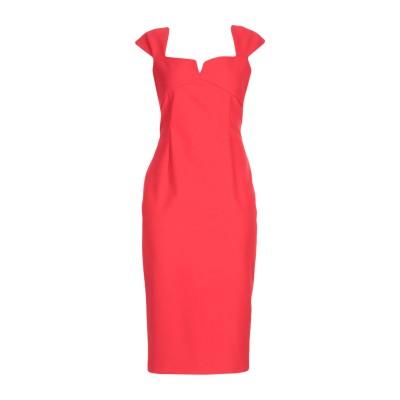 ピンコ PINKO 7分丈ワンピース・ドレス レッド 38 88% ナイロン 12% ポリウレタン 7分丈ワンピース・ドレス