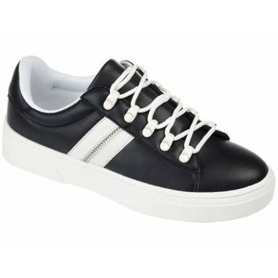 ジャーニーコレクション スニーカー シューズ レディース Comfort Foam Arden Sneaker Black