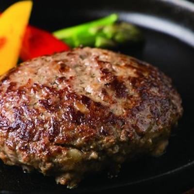 極・前沢牛100% 塩ハンバーグ 4個入り 盛岡市内の高級鉄板焼店「香月」の人気メニュー!