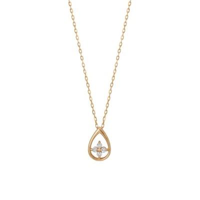 TAKE-UP / K10ダイヤモンド ツユクローバーネックレス WOMEN アクセサリー > ネックレス