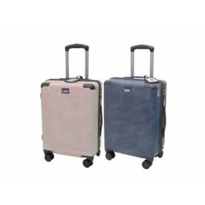 Lee リー スーツケース 機内持込み(100席以上)対応 ABS樹脂×ポリカーボネイト(デニム調) TSAロック仕様 48cm 37L 19インチ 320-9000
