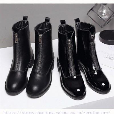 マーティンブーツハイヒール革靴シューズシークレットブーツレディース身長アップレディースブーツワークブーツかっこいいシークレットブーツ