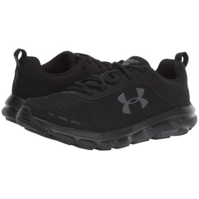 アンダーアーマー Under Armour メンズ ランニング・ウォーキング シューズ・靴 UA Charged Assert 8 Black/Black/Black