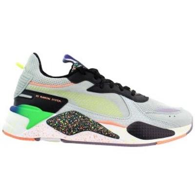 プーマ メンズ スニーカー シューズ RS-X Fourth Dimension Lace Up Sneakers Fair Aqua / Ponderosa