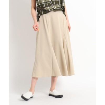 Dessin(Ladies)(デッサン(レディース)) 【XS~L/後ろゴム】切り替えフレアースカート