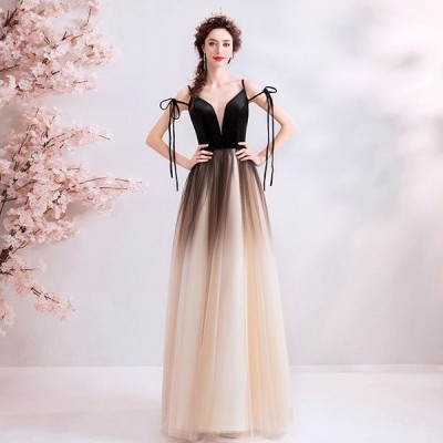パーティードレス ロングドレス カラードレス 発表会 大きいサイズ 結婚式 ワンピース 二次会 ドレス ステージ衣装 演奏会用ドレス 黒 送料無料