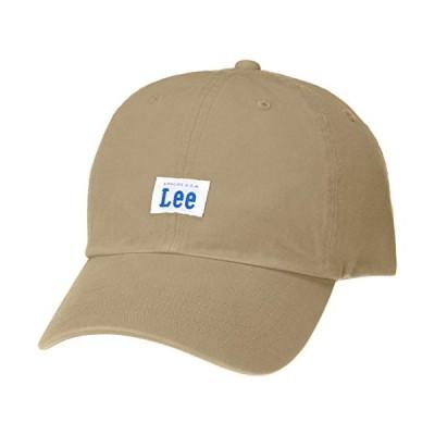 リー ローキャップ Lee LOW CAP COTTON TWILL 100176303 BEIGE 日本 57cm~59cm (日本サイズ