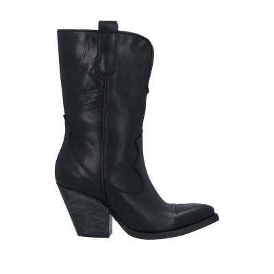 CONCEPT® ショートブーツ ブラック 36 牛革(カーフ) ショートブーツ