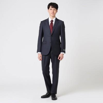 タケオ キクチ TAKEO KIKUCHI カラーチェックアマデウススーツ (ネイビー)