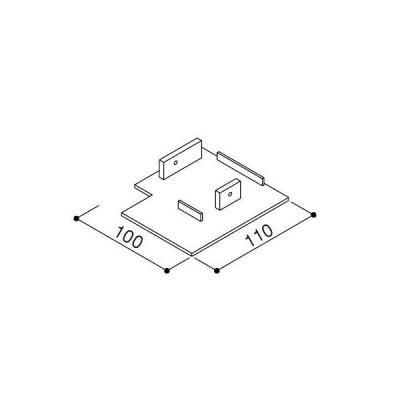 YKKAPエクステリア部品 桁小口キャップ(HHK3-2309)