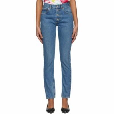 バレンシアガ Balenciaga レディース ジーンズ・デニム ボトムス・パンツ indigo tube jeans