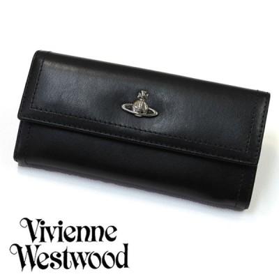ヴィヴィアン ウエストウッド 長財布 ブランド メンズ レディース 本革 財布 CAMBRIDGE BLACK 誕生日 プレゼント 祝い 男性 女性