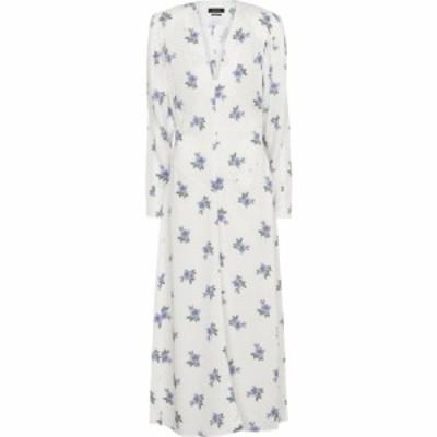 イザベル マラン Isabel Marant レディース ワンピース ミドル丈 ワンピース・ドレス bagenia floral midi dress White