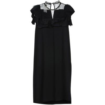ピンコ PINKO ミニワンピース&ドレス ブラック 38 レーヨン 100% / ナイロン / ポリウレタン ミニワンピース&ドレス