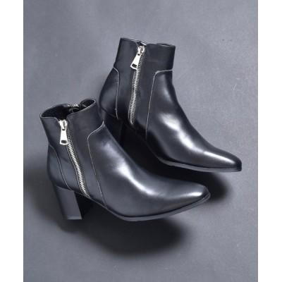 SVEC / ジップ ヒールブーツ / ドレスブーツ endevice / エンデヴァイス MEN シューズ > ブーツ