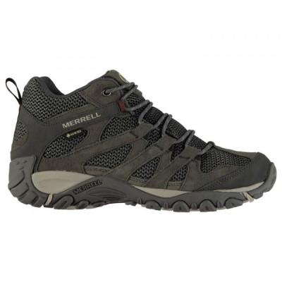 メレル Merrell メンズ ランニング・ウォーキング ブーツ シューズ・靴 Alverstone Mid Gore Tex Walking Boots Granite