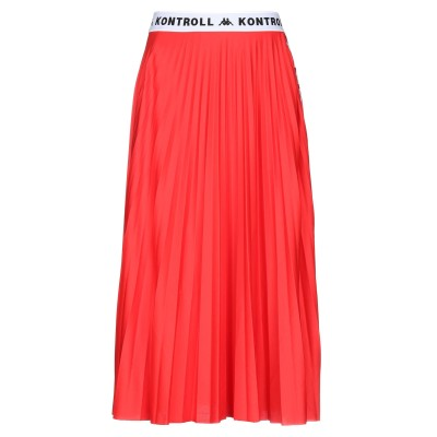 KAPPA KONTROLL 7分丈スカート レッド XS ポリエステル 100% 7分丈スカート