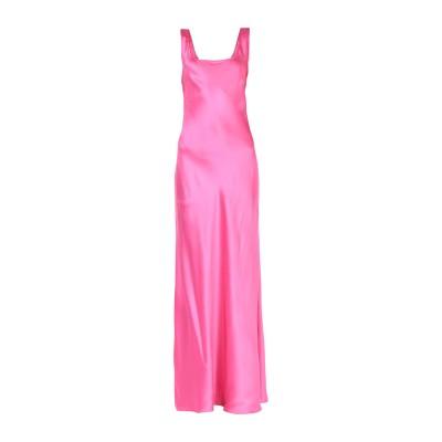 アルベルタ フェレッティ ALBERTA FERRETTI ロングワンピース&ドレス フューシャ 40 シルク 100% ロングワンピース&ドレス