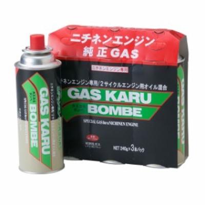 【3,980円以上で送料無料】ガスカル刈払機用 ガスカルボンベ3本パック 0000493