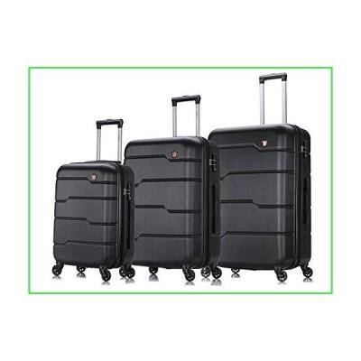 """【全国送料無料】DUKAP Hardside Spinner 3 Piece Luggage Set with Ergonomic Handles and TSA Lock, Rodez Collection Travel 20"""" 24"""" and"""