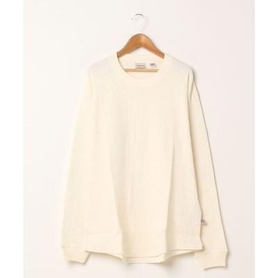 tシャツ Tシャツ [ Goodwear / グッドウェア ] USAコットンワッフルクルーネックロンT