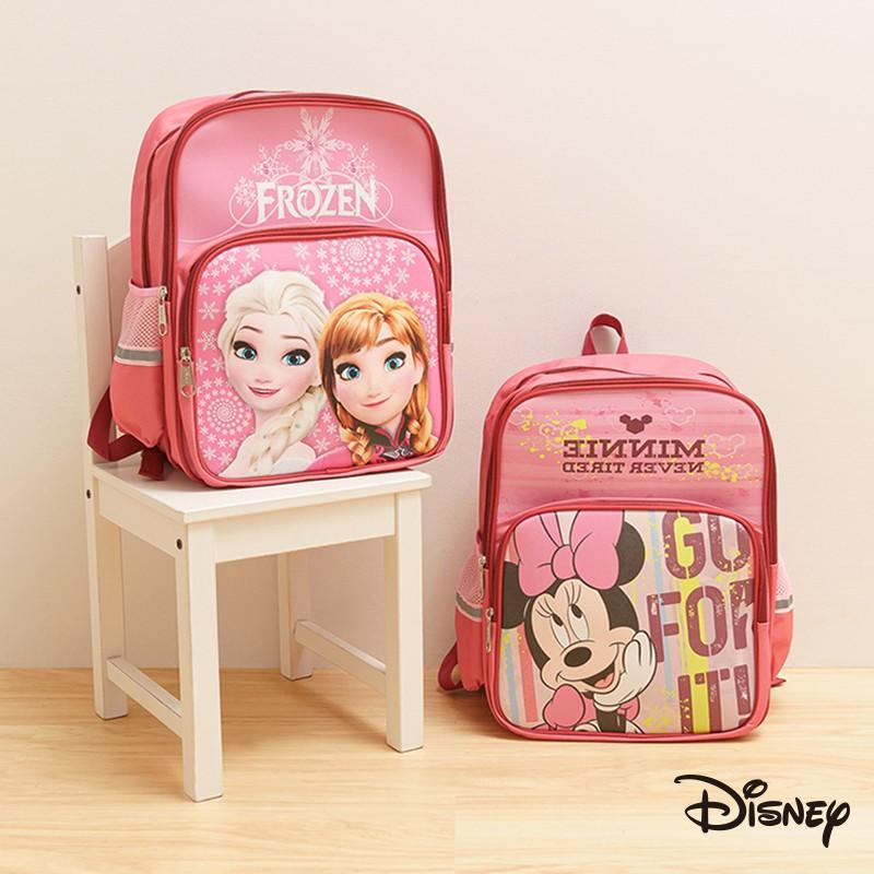 迪士尼 文具旗艦店|迪士尼護脊書包 米奇 米妮 艾莎 安娜 冰雪奇緣 兒童 書包 包包 後背包 護脊書包 CC001