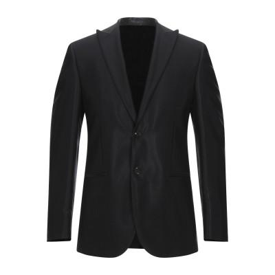 LUBIAM テーラードジャケット ブラック 46 アセテート 59% / バージンウール 41% テーラードジャケット