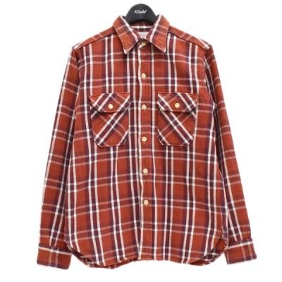WAREHOUSE チェックシャツ レッド サイズ:M (梅田クロス茶屋町店) 210419