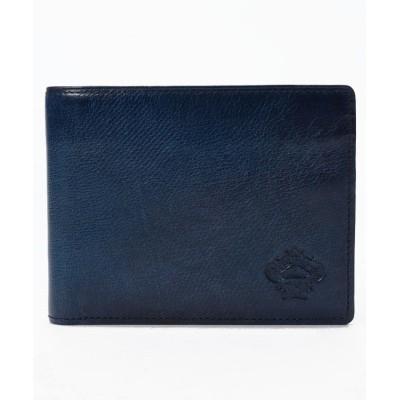 【オロビアンコ】 PATINA 2つ折り財布(ORS−072209) メンズ NAVY FREE Orobianco