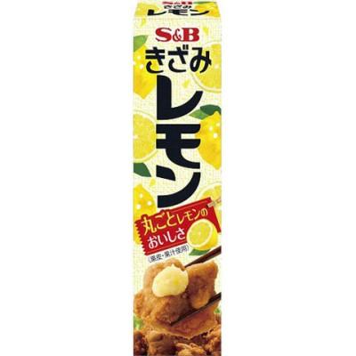 【訳あり】S&B きざみレモン (38g)