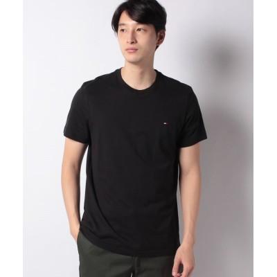 【ザ ベアフット】 CORE FLAG TEE CREW クルーネックTシャツ メンズ ブラック S THE BAREFOOT