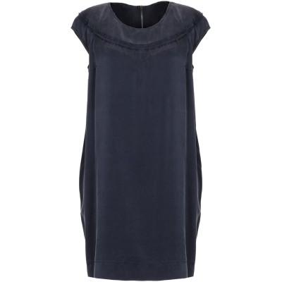ロートレ ショーズ L' AUTRE CHOSE ミニワンピース&ドレス ダークパープル 44 シルク 100% ミニワンピース&ドレス