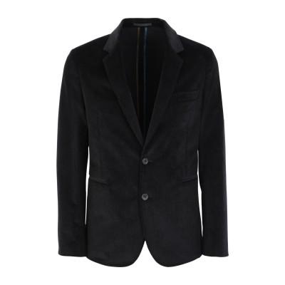 PS PAUL SMITH テーラードジャケット ブラック 36 コットン 98% / ポリウレタン 2% テーラードジャケット