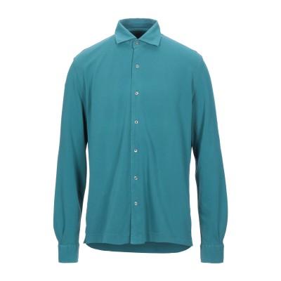 DELLA CIANA シャツ ディープジェード 52 コットン 100% シャツ