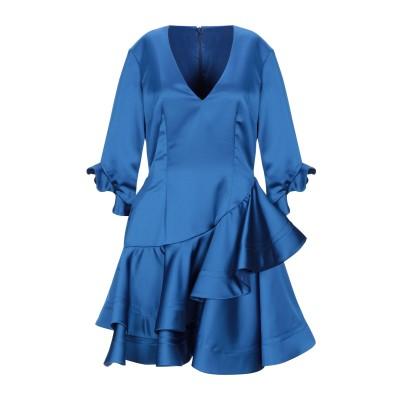 LEITMOTIV ミニワンピース&ドレス ブライトブルー 40 ポリエステル 96% / ポリウレタン 4% ミニワンピース&ドレス