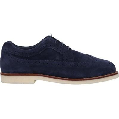 ホーガン HOGAN メンズ シューズ・靴 laced shoes Dark blue