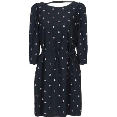 CLAUDIE PIERLOT ミニワンピース&ドレス ブルー 38 ポリエステル 100% / レーヨン ミニワンピース&ドレス