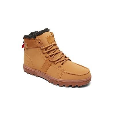 ブーツ ディーシーシューズ DC Shoes Men's Woodland Lace-up Hi Top Snow Boot Shoes Wheat Brown Footwear