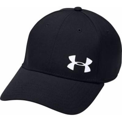 アンダーアーマー メンズ 帽子 アクセサリー Under Armour Men's Headline 3.0 Golf Hat Black/White
