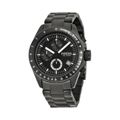 腕時計 フォッシル Fossil クロノグラフ ブラック Ion-プレート メンズ 腕時計 CH2601