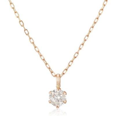 [ディーコレクション] ダイヤモンド 0.2ct K18 ネックレス DS20096PG ピンクゴールド