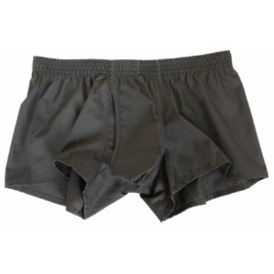 3D 立体 至福のパンツ MSPEC 股間爽快 ショート トランクス メンズ 綿100% 前開き 黒