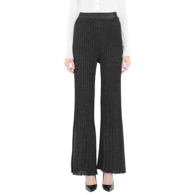 VICOLO パンツ ブラック one size レーヨン 70% / 金属化ポリエステル 15% / ポリエステル 15% パンツ
